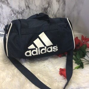 Adidas Gym Bag Duffle Crossbody Navy Blue O/S